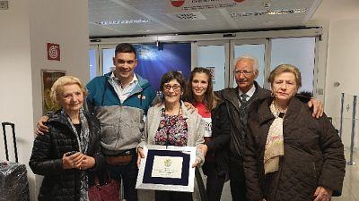 Emigrata torna ad Alghero dopo 66 anni