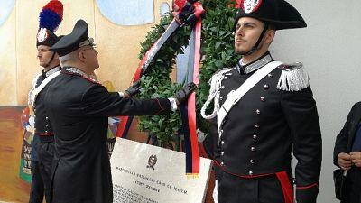 Gen.Nistri inaugura caserma Cc Orgosolo