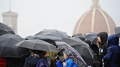 Toscana,ancora codice giallo per pioggia