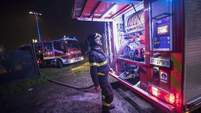 Incendio in clinica privata, vittime1