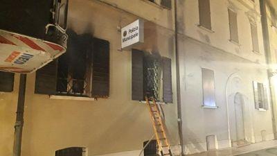 Rogo in sede vigili, 2 morti a Mirandola