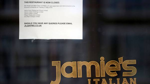 Jamie Oliver shutters most UK restaurants, 1,000 jobs go