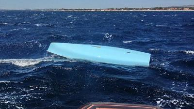 Ultraleggeri per ricerca dispersi mare