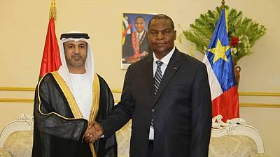 UAE Ambassador presents credentials to Central African Republic President