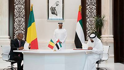 His Highness Sheikh Mohamed bin Zayed attends signing of agreements,  Memorandum of Understanding (MoU)s between UAE and Mali