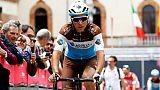 Tour d'Italie: contusions mais pas de fracture pour Gallopin