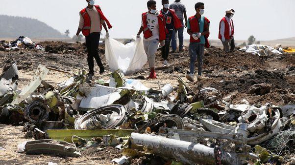 أرملة فرنسية تطالب بوينج بتعويض قدره 276 مليون دولار بسبب الطائرة الإثيوبية