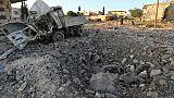 Syrie: Washington soupçonne Damas d'attaque chimique, menace de représailles