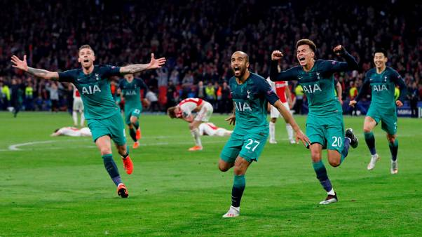 Spurs ban fans trying to sell Champions League final tickets