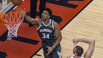 Nba, Raptors-Bucks 2-2 dopo gara 4