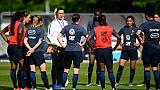 Bleues: contrôle antidopage à Clairefontaine