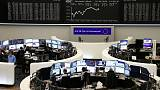 European shares dip as trade war fears weigh