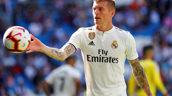 Injured Kroos to miss Germany's next two Euro 2020 qualifiers