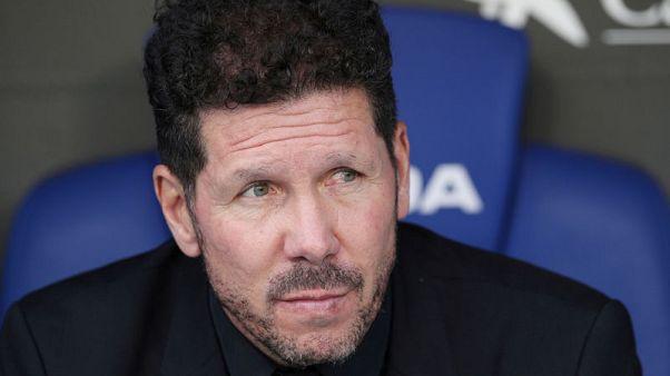 Simeone pledges future to Atletico despite player exodus