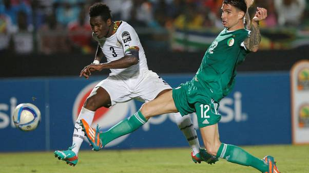 Ghana's Gyan available for Nations Cup after president intervenes