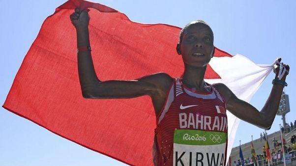ايقاف العداءة كيروا الفائزة بفضية الماراثون في الأولمبياد بعد سقوطها في اختبار للمنشطات
