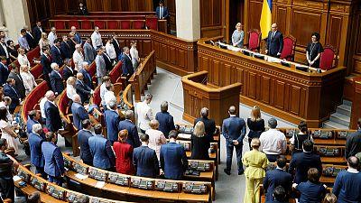 Parliament frustrates new Ukraine president's election reform