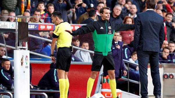 VAR has been a success in La Liga, say Spanish referees