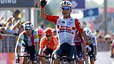 Tour d'Italie: Ewan sprinte pour la 11e étape