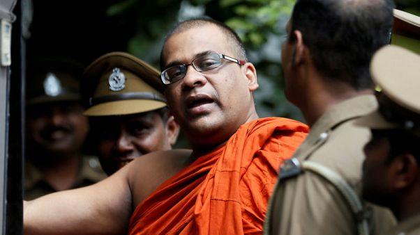Sri Lanka president pardons hardline Buddhist monk