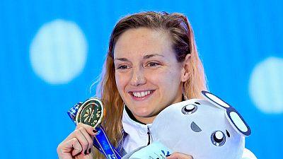 Swimming: 'Iron Lady' Hosszu fired up by ISL battle