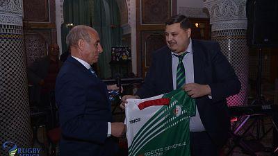 La fédération algérienne de rugby, officiellement acceptée en tant que membre affilié à World Rugby