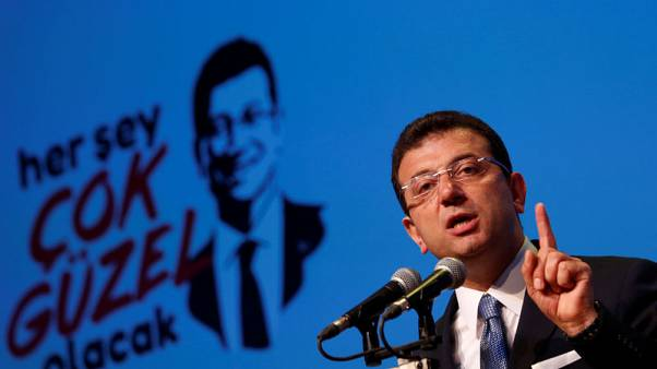 Istanbul's ousted mayor says billions wasted under Erdogan's AKP