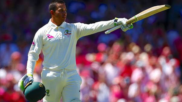 Australia's Khawaja given all clear after head knock