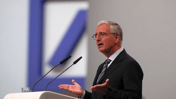 Deutsche Bank CEO pledges tough investment bank cuts as shares hit low