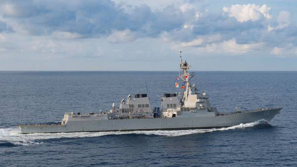 البحرية الأمريكية تسيّر سفينتين في مضيق تايوان وتثير غضب الصين
