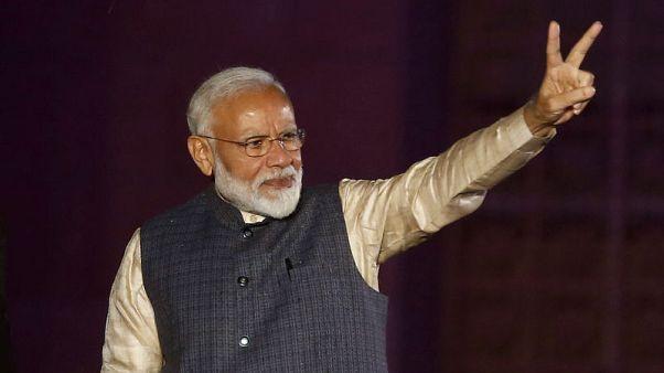 مودي يحقق فوزا مذهلا في انتخابات الهند