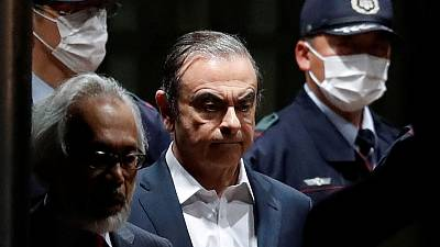 Ex-Nissan boss Ghosn to ask for monitored visit with spouse - lawyer