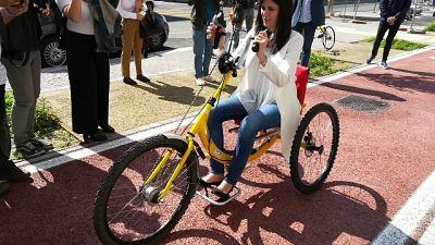 A Torino primo servizio handbike sharing