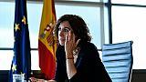 """Irene Lozano, la """"Madame image de l'Espagne"""""""