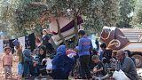 تزايد أعداد النازحين من شمال غرب سوريا مع احتدام القتال
