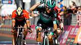 Tour d'Italie: Benedetti vainqueur de la 12e étape, Polanc en rose