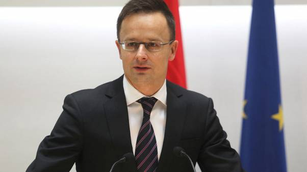 Migration will dictate Hungary ruling party ties to EU centre right - foreign minister