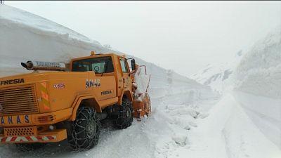 Muri neve di 7 mt, riapre P.S. Bernardo