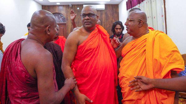Sri Lanka's hardline Buddhist monk walks out of jail after pardon