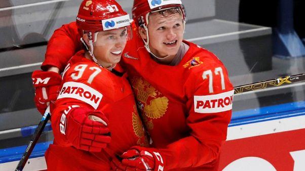 Russia, Canada reach semis as Sweden crash out