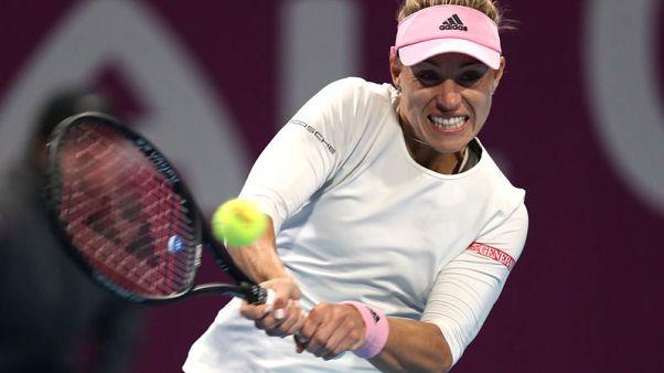 Against the odds, Germany's Kerber eyes career Grand Slam
