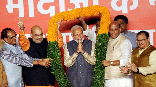 India's Modi begins talks for new cabinet after big election win