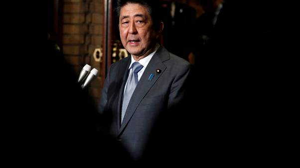 Japan PM Abe considering visit to Iran as early as mid-June - NHK