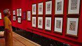 عرض رسومات لليوناردو دافنشي في قصر بكنجهام