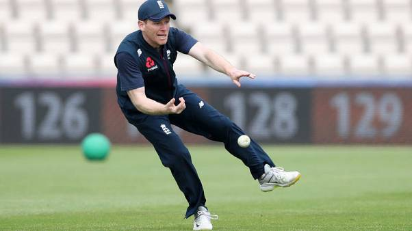 England's Morgan injures finger ahead of World Cup - reports
