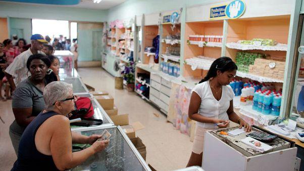 Shortages plague Cuba as U.S. sanctions sharpen economic woes
