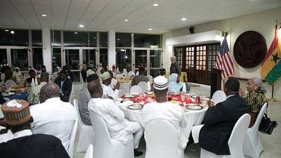U.S. Ambassador Sullivan Holds Iftar with Interfaith Community