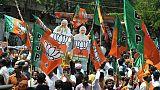 Législatives en Inde: large majorité parlementaire pour les nationalistes de Modi