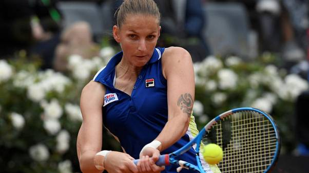 Tennis: Pliskova hopes hitting with Halep will pay off