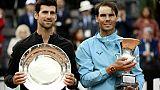 Roland-Garros: Nadal et Djokovic, une lutte pour l'histoire